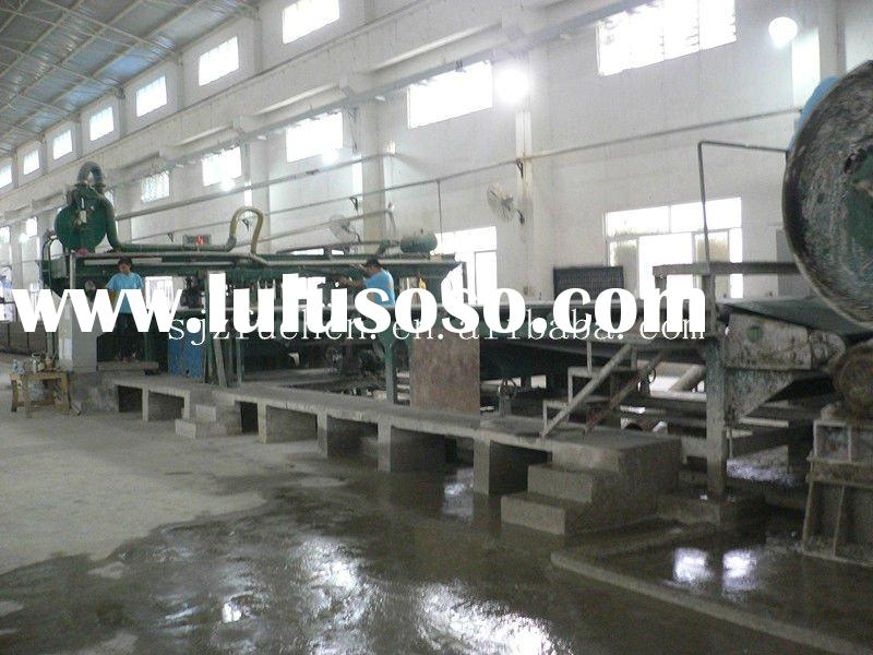 high density fiber cement board machine