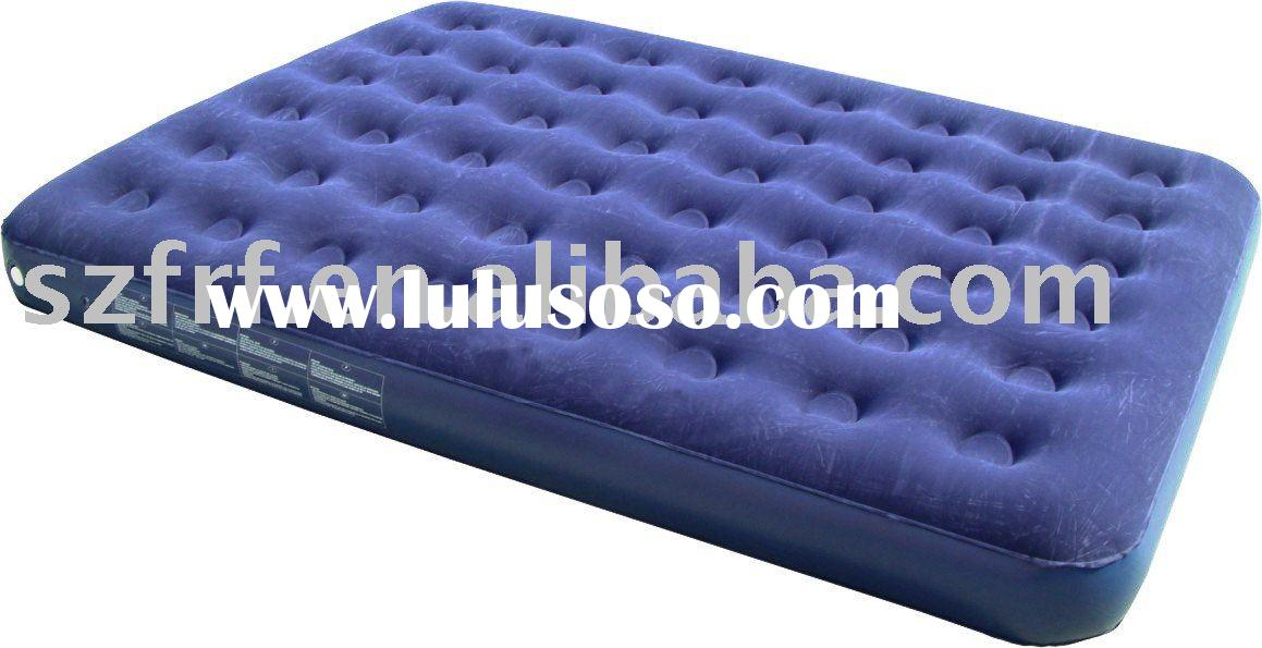inflatable air bed,inflatable flocked air bed,inflatable air mattress