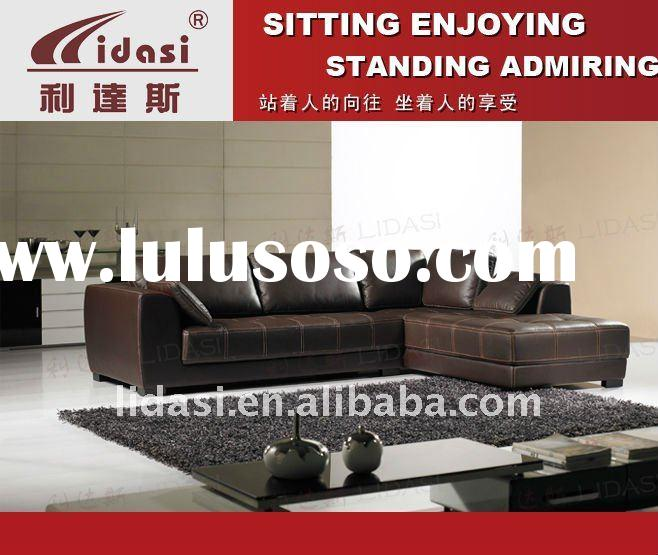 italy europe style genuine leather living room furniture l shaped sofa