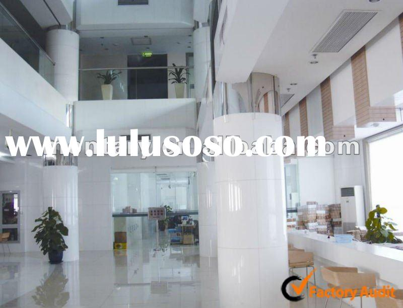 pure white non porous artificial marble(crystal stone) for decorative