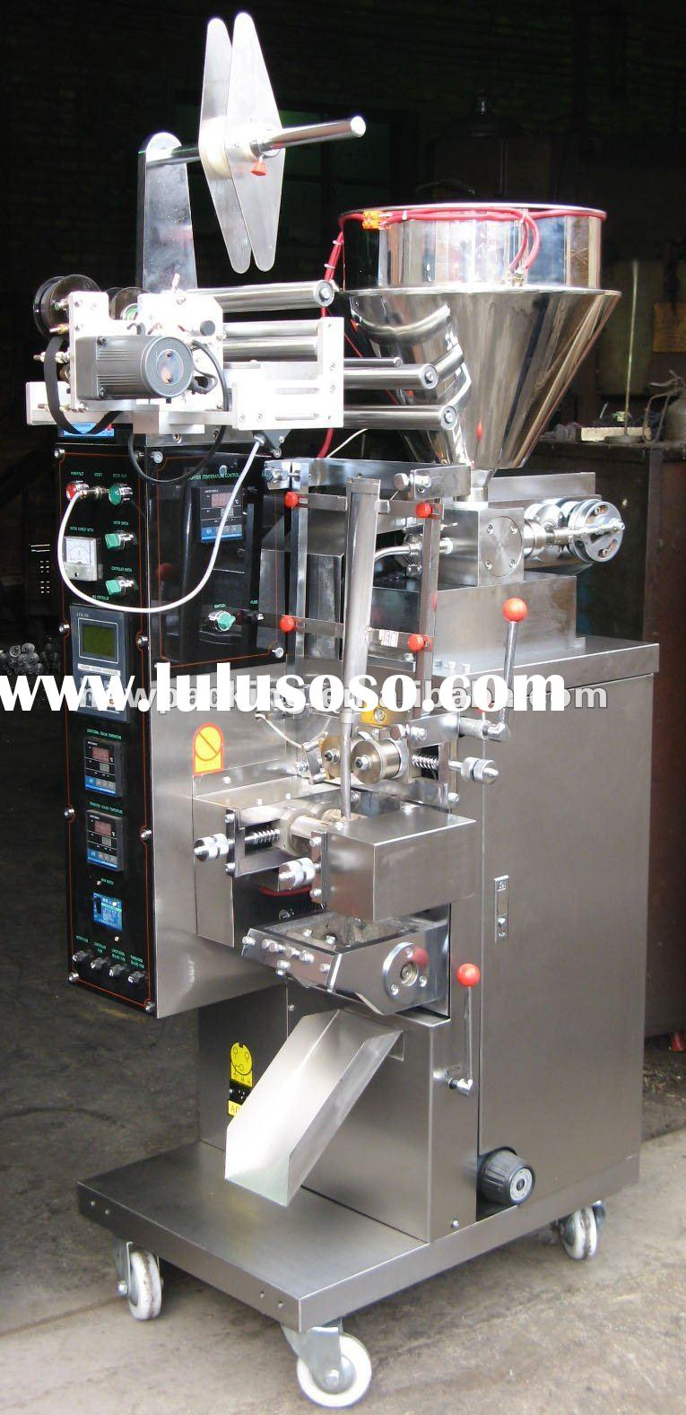shampoo pouch filling,sealing,packing Machine Model ND-DXD-J40