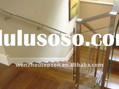 stainless steel wood&glass stair parts