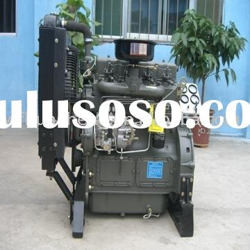 stationary power diesel engine, 4-cylinder water cooled engine