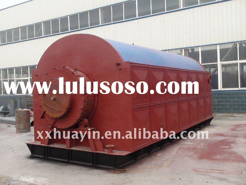 waste tire or plastic pyrolysis plant
