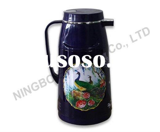 1.0 L/1000ml PP Plastic Vacuum Flask Thermos Bottle Coffee Pot Glass Refill Water Container Thermal