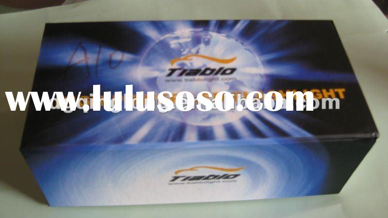 2011 hot product custom blue gift a paper box made in china
