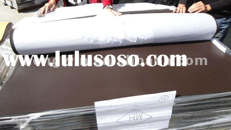 2012 hot product rubber soling sheet beige print color