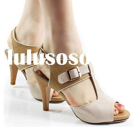 2012 new design ladies shoes women fashion shoes with wholesale price