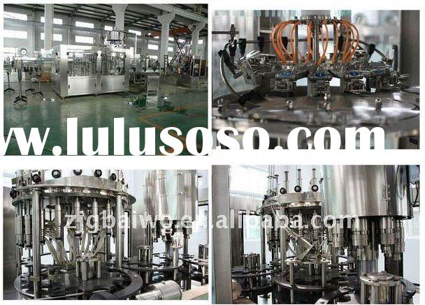 3-in-1 bottle pure or mineral water filling plant