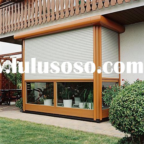 Aluminum Residential Security Window Shutter