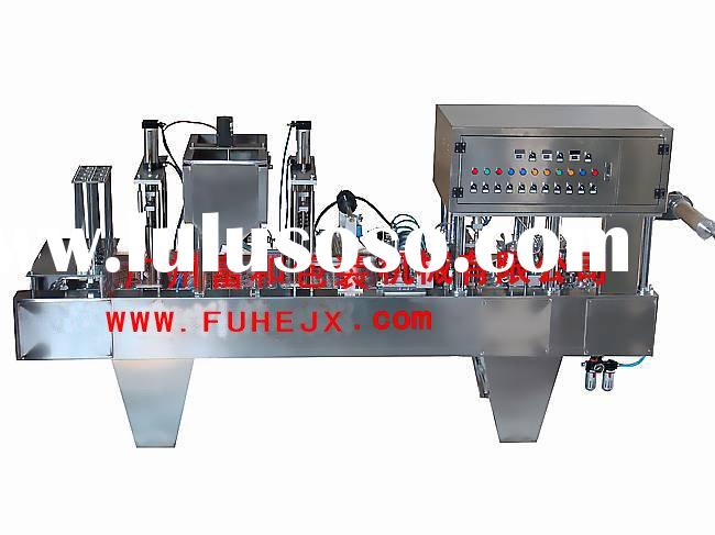 BG60A-4 Automatic Plastic(Paper)Cup Filling Sealing Machine