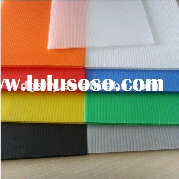 Best-selling corrugated plastic board with high quality,low price