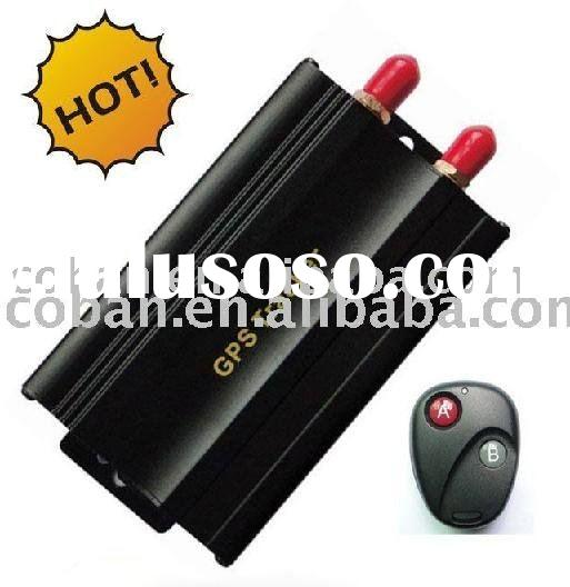 Car GPS GSM alarm with remote engine stopa and resume