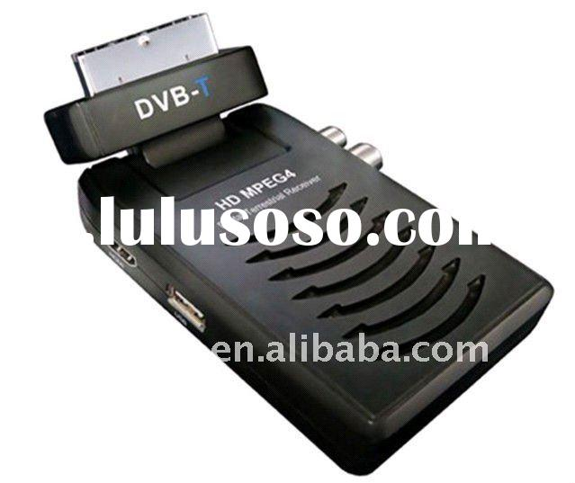 Digital DVB-T Terrestrial Receiver True HD H.264 MPEG4 Scart TV Box Tuner IR