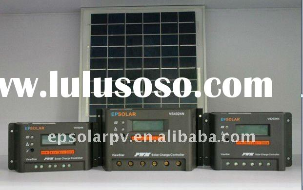 EPSOLAR 40A programmable solar PV charge controller /regulator with LCD display, real clock system m