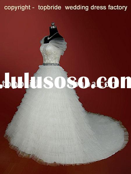 Elegant Bridal Wedding Gowns/Dresses 2011 Special Design Professional OEM Factory WH787