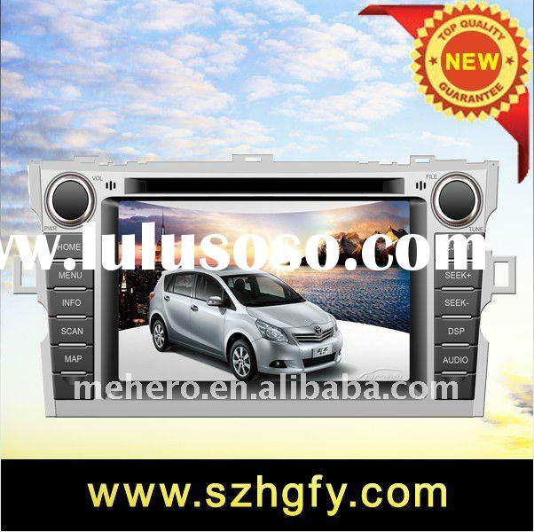 Factory 2 din latest model Car Radio for Toyota Verso with DVD Player,GPS Navigation,Bluetooth,Video