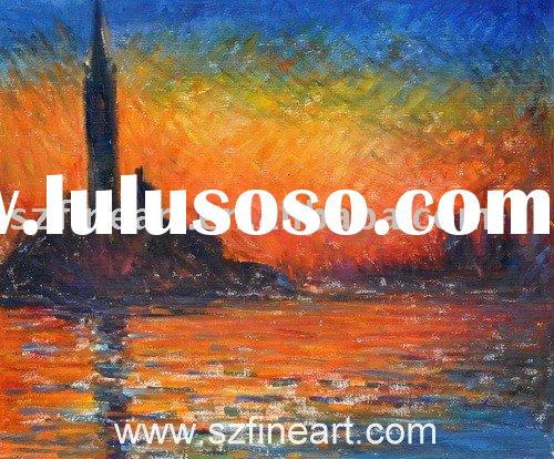 Famous Impressionist Landscape Oil Painting(Good Price and Museum Quality)