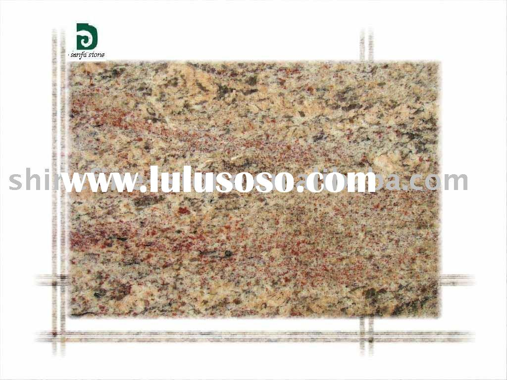 Golden Bordeaux Crema Granite for decoration