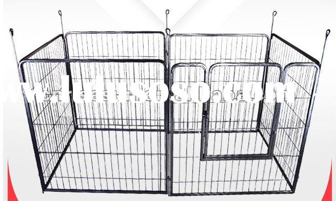 Heavy Duty Cage Pet Dog Cat Barrier Fence Exercise Metal Play Pen Kennel New