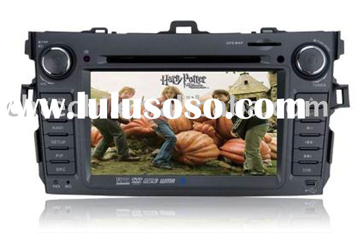 High definition digital touch screen special car dvd player