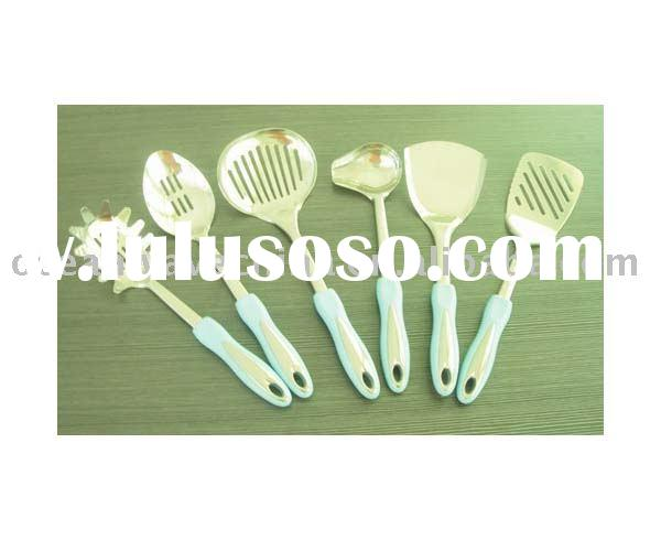 High quality stainless steel kitchen tool with plastic handle