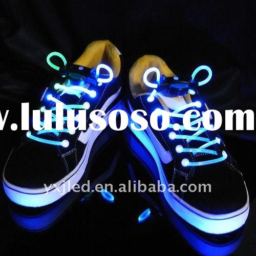 Hot Sell Cheap flashing Multi-color led shoelace