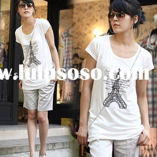 Hot sale popular best seller newset style lady t shirt
