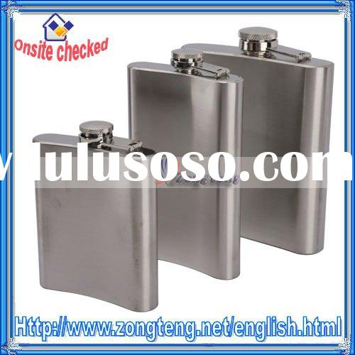New And High Quality ! Stainless Steel Wine Hip Flask 18OZ