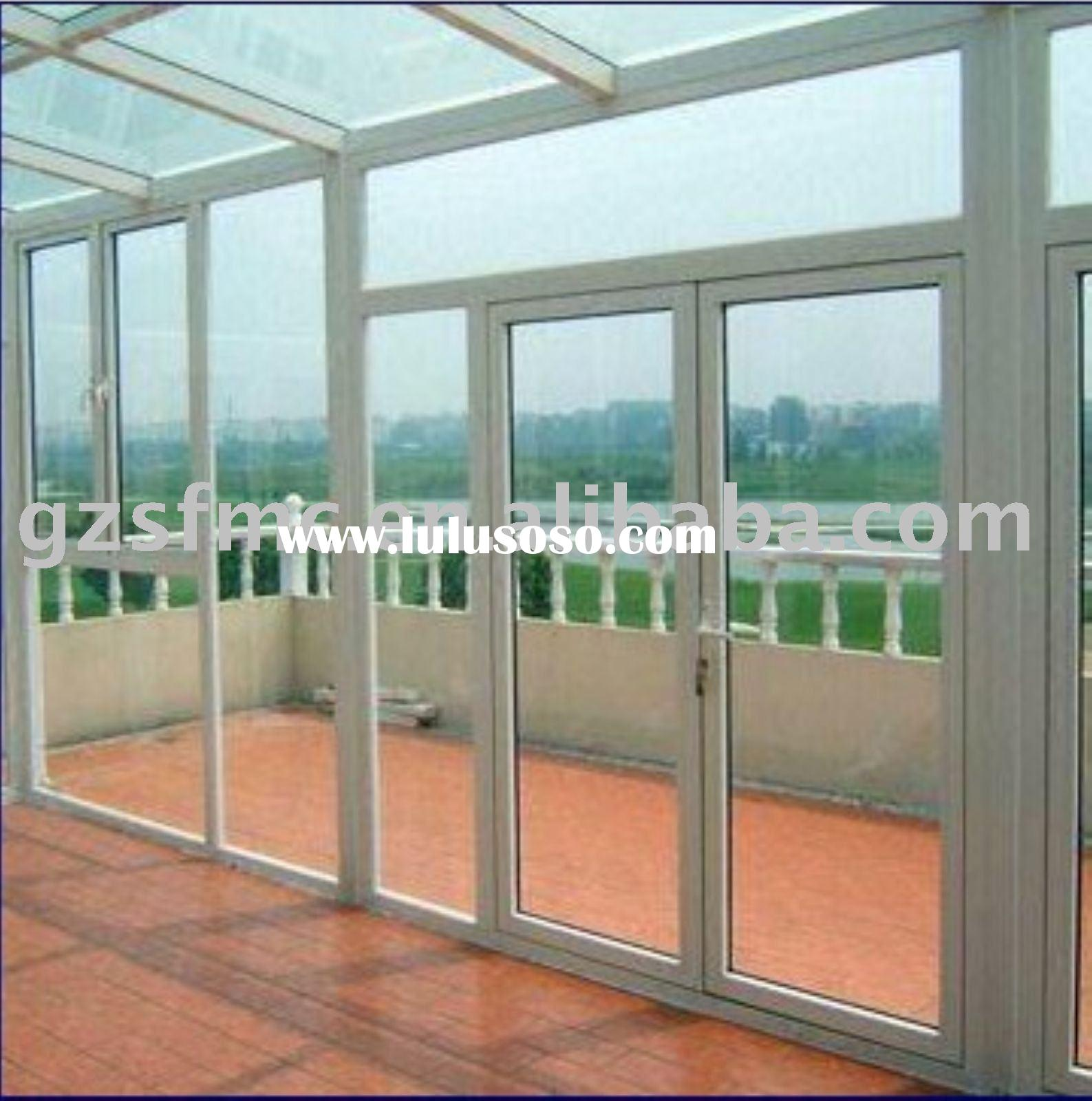 Sun house of pvc windows&doors.