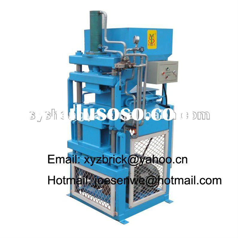 SY1-10 africa market automatic eco clay block making machine