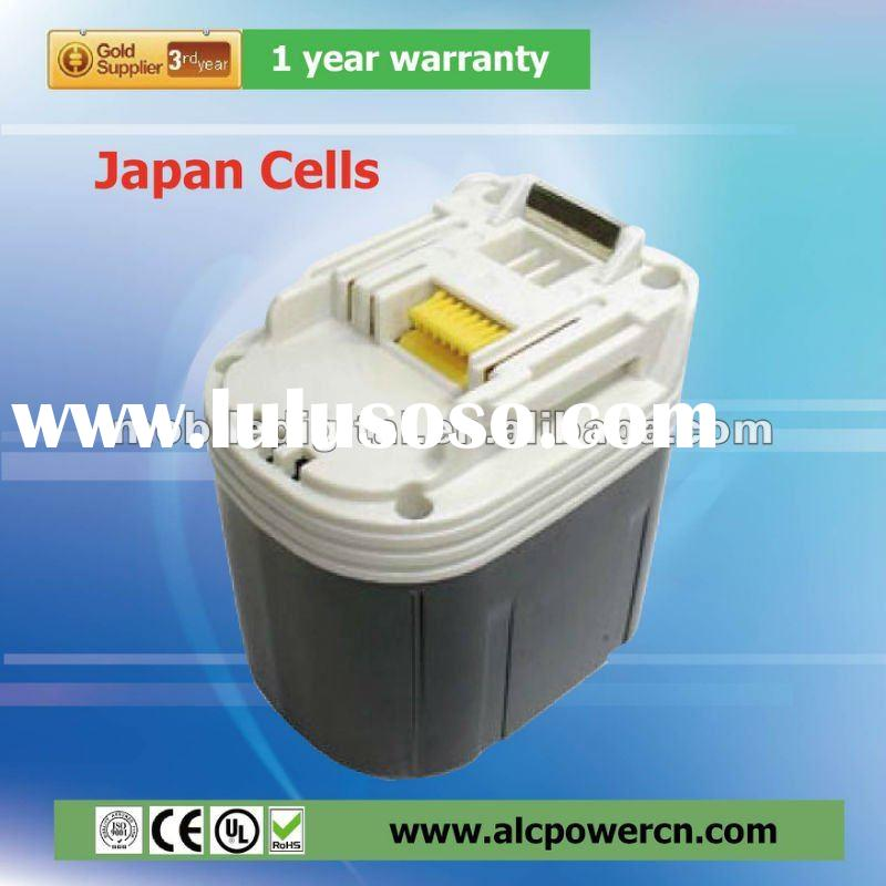 Sanyo cell 12 V Ni-MH replacement power tool battery for MAKITA