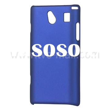 Smooth Rubberized Hard Shell Case for Samsung I8700 Omnia 7