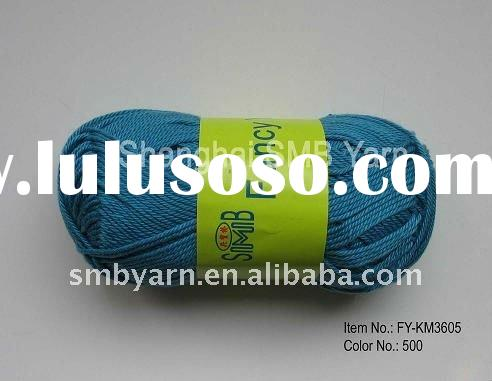 Soft Cotton Yarn for Hand Knitting FY-KM3605