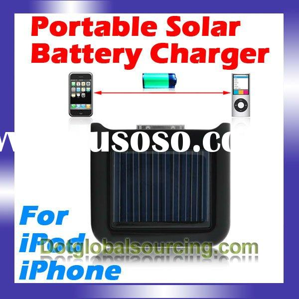 Solar High Power Emergency Battery Charger for iPhone 3G 3GS 4 4G for iPod Nano Touch