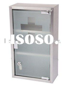 Stainless Steel Medical Box with Lock