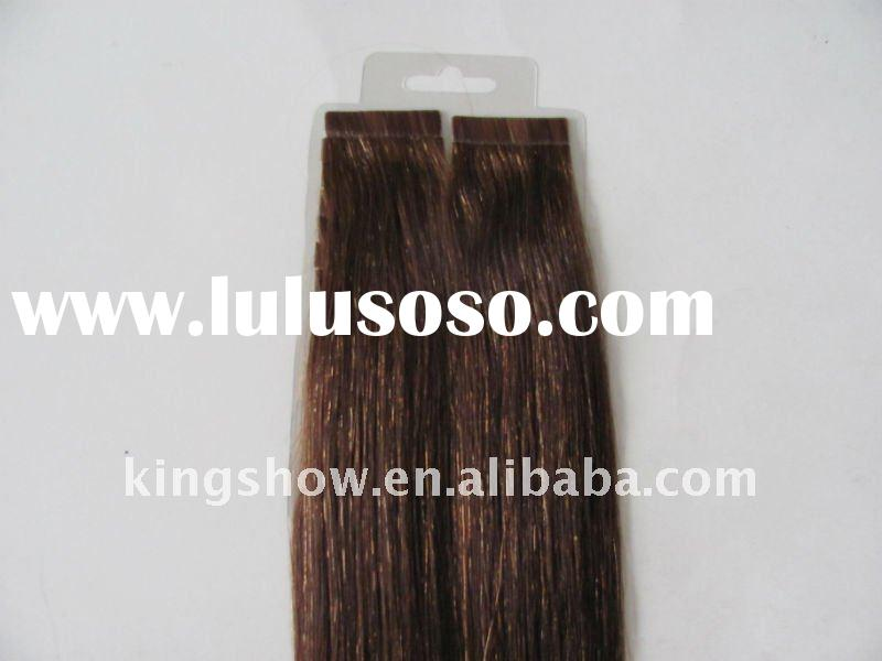 Super quality cheap double sided tape hair extension
