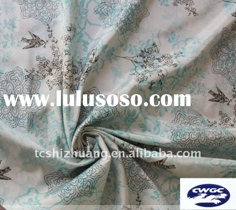 The best price ,silk cotton fabric for dress, T-shirt,apparel fabric