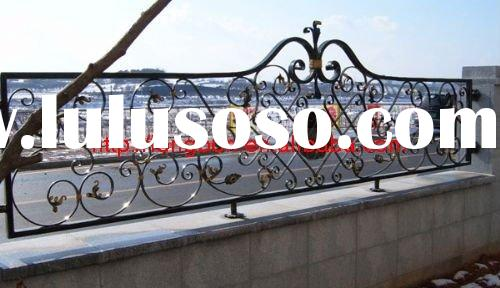 Top-selling hand forged modern steel fence parts