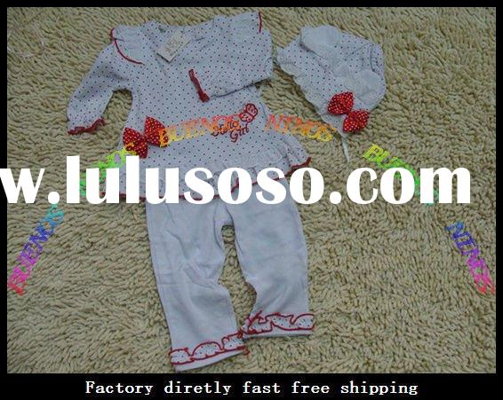 Wholesale - New Fashion Baby Sets Cotton Baby Set product Baby Outfits Baby Wears Sets 20pcs/lot
