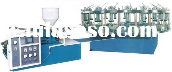 XL-999/16-20 Rotary type full-automatic once-colour(Double-colour) injection moulding machine for pr