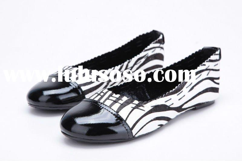 accept paypal,2011 hot selling wholesale ladies leather flat shoes