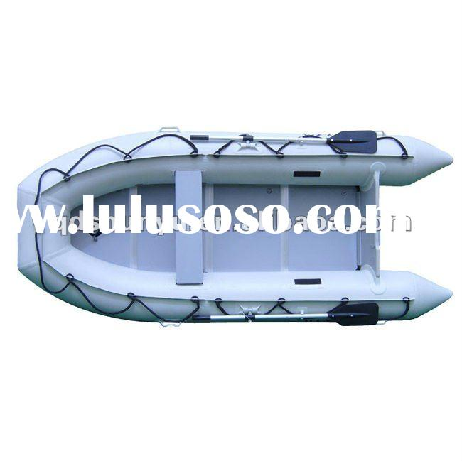 best-selling CE 4persons pvc or hypalon material aluminum floor new rubber boat