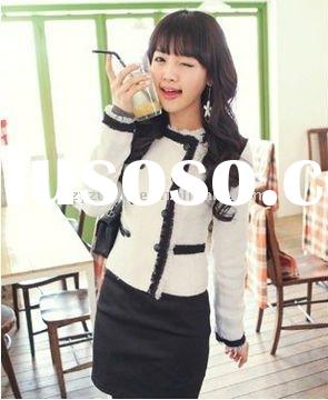 elegant & lovely & high fashion & office & warm & trench women's & l