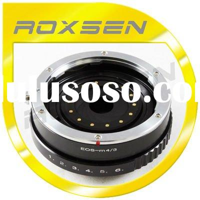 for Canon EF Lens to for Olympus PEN E for Panasonic G Micro 4/3 M43 Build-in Aperture