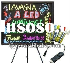 for Hotel or Coffee Shops High Brightness advertising LED Writing Board