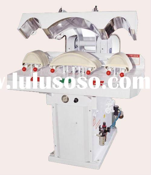 fully automatic cuff and collar pressing machine, clothes iron,laundry equipment