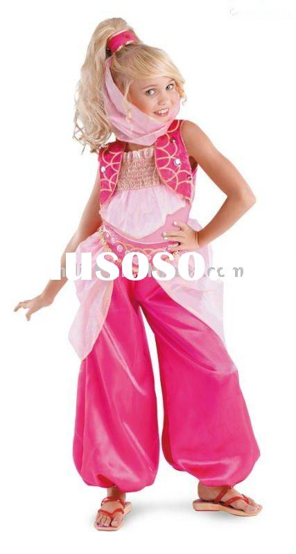 halloween children Arabic dance fancy dress costumes MAC-0258