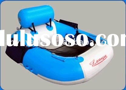 inflatable one person handmade fishing boat