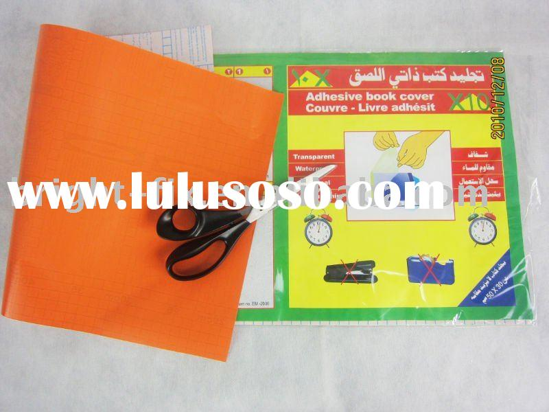 Glue Fabric Book Cover ~ Non adhesive book cover for sale price china